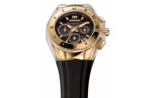 Cruise Original Star Chrono Quartz Black / Pink Gold