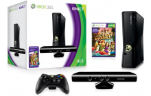 Xbox 360 Consola 250GB + Kinect (DC2+Sports+Adventures)