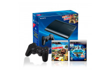Combo Play Station 3 12GB + 2 Controles + 2 Juegos.